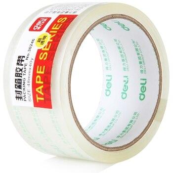 4 stück 48mm x 40 yard Super Transparent Verpackung Bänder Adhesive Starke Kleber Karton Dicht Band Hight Qualität Deli 30246