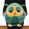 40 см мультфильм сова плюшевые игрушки зима рука теплая подушка сна мягкие игрушки животные кукла день защиты детей подарок