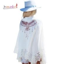 2016 New Gypsy Eagle Print Back Crochet Detail Beachwear G42035 Sexy Beach Dresses Cover up font