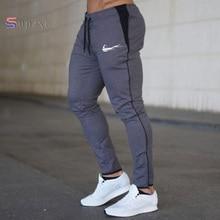 New Men Joggers Brand Male Trousers Casual Pants Sweatpants Men Gym Muscle Cotton Fitness Workout hip hop Elastic Pants