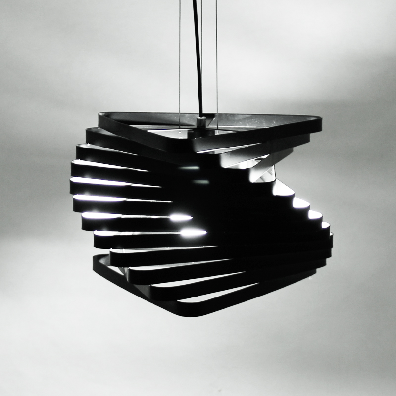 цена на Nordic art LED bar lamp creative personality Cafe Restaurant lamps modern minimalist bedroom lamp