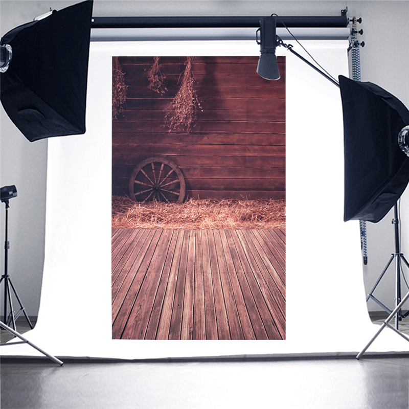 Wood Floor Wheel Photo Background Vinyl Studio Photography Backdrops Prop DIY 10x10ft vinyl custom wood grain photography backdrops prop studio background tmw 20185