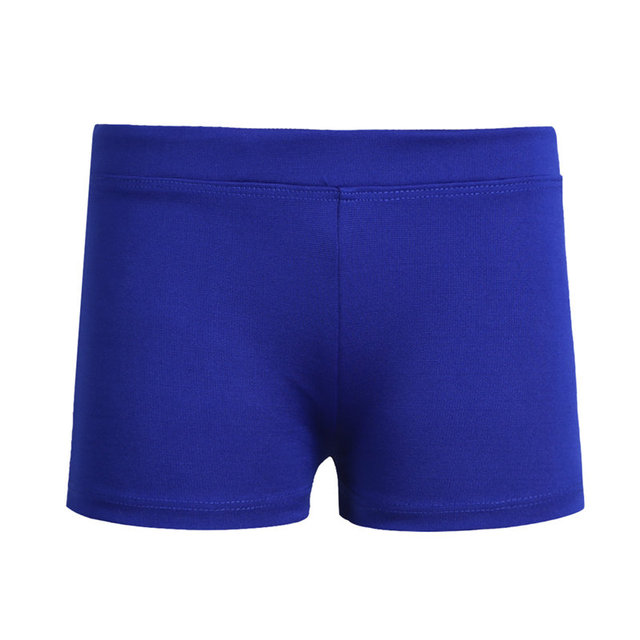 FEESHOW 2018 HIgh Quality Girls Boy-cut Low Rise Activewear Dance Shorts for Yoga Sports Workout Gym Girls Shorts Safe shorts
