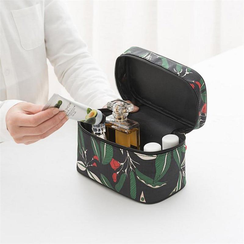 NIBESSER Floral Print Cosmetic Bags Women Large Capacity Minimalist Waterproof Makeup Organizer Storage Bag Travel Toiletry Bag-in Cosmetic Bags u0026 Cases ... & NIBESSER Floral Print Cosmetic Bags Women Large Capacity Minimalist ...