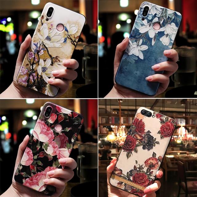 Para Huawei P20 Lite Pro p10 p8 p9 Lite 2017 funda para Huawei Mate 20 10 Lite Pro Nova 3i 3 2i Honor 10 9 8 Lite funda negro