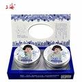 240g SHANG HAI Gardênia branca de neve Terno creme 2 pçs/lote Hidratação da pele creme de clareamento ácido hialurônico creme para o rosto pele cuidados