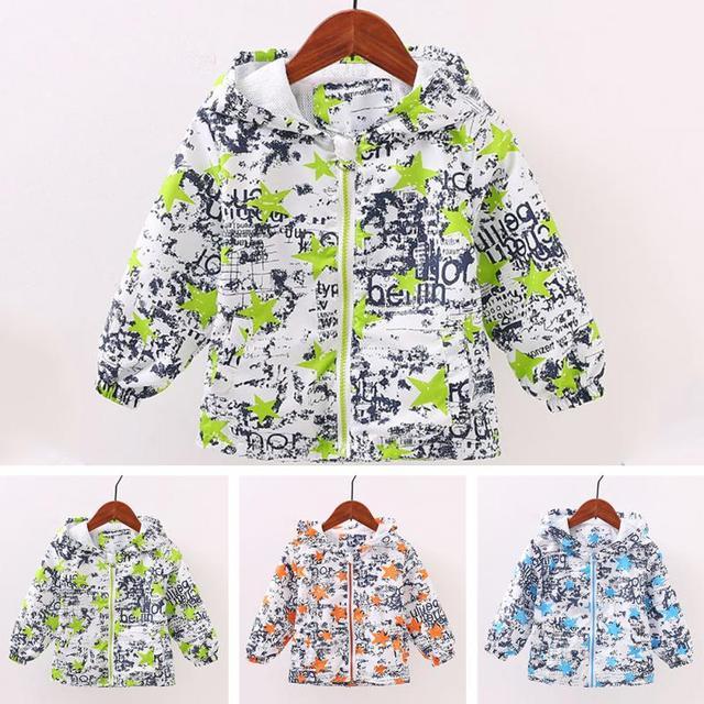 713fbfaf0887 2017 Autumn Winter Girls Jacket For Girls Windbreaker Boys Jacket ...