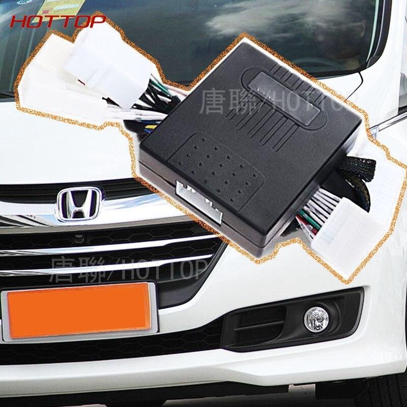 imágenes para Espejo Lateral del coche Carpeta Plegable Extender Kit + Ventana Más Cercana Para Honda Odyssey 2015 2016 car styling