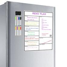 Magnetische Trockenen Löschen Wöchentlich Planer Bord Kühlschrank Wöchentlich Whiteboard Kalender Beständig Technologie Familie, Home, Büro Kühlschrank