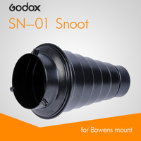 Godox Snoot SN 01 For Bowens Mount Conical Constraints Of Light Professional Studio Flash And Photographic