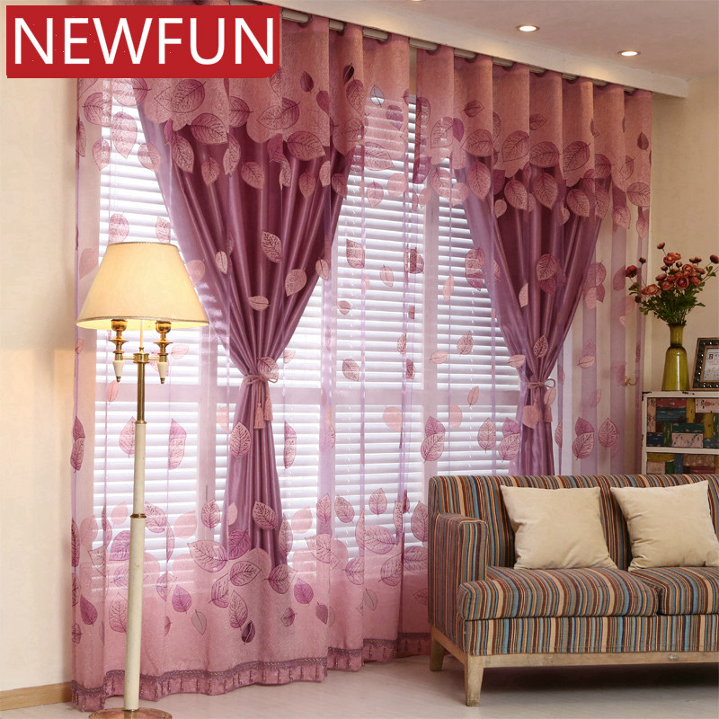European Luxury Window Curtains for Living Room Royal Sheer Curtains for Bedroom Elegent Tulle and Curtains for Children