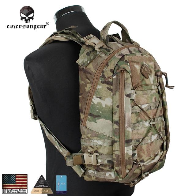 Emersongear MultiCam Assault Ransel Operator Pack Molle Militer Berburu Tas EM5818 Coyote Hitam USA Cordura