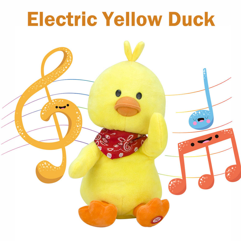 Electric Smart Music player Soft Stuffed Dolls Cute Little Y…