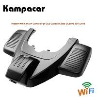 Kampacar Full HD 1080P Dash Cam Wifi Rear View Camera Video Recorders Car Dvr Auto For Mercedes Benz GLE Class GLE500 2015 2016
