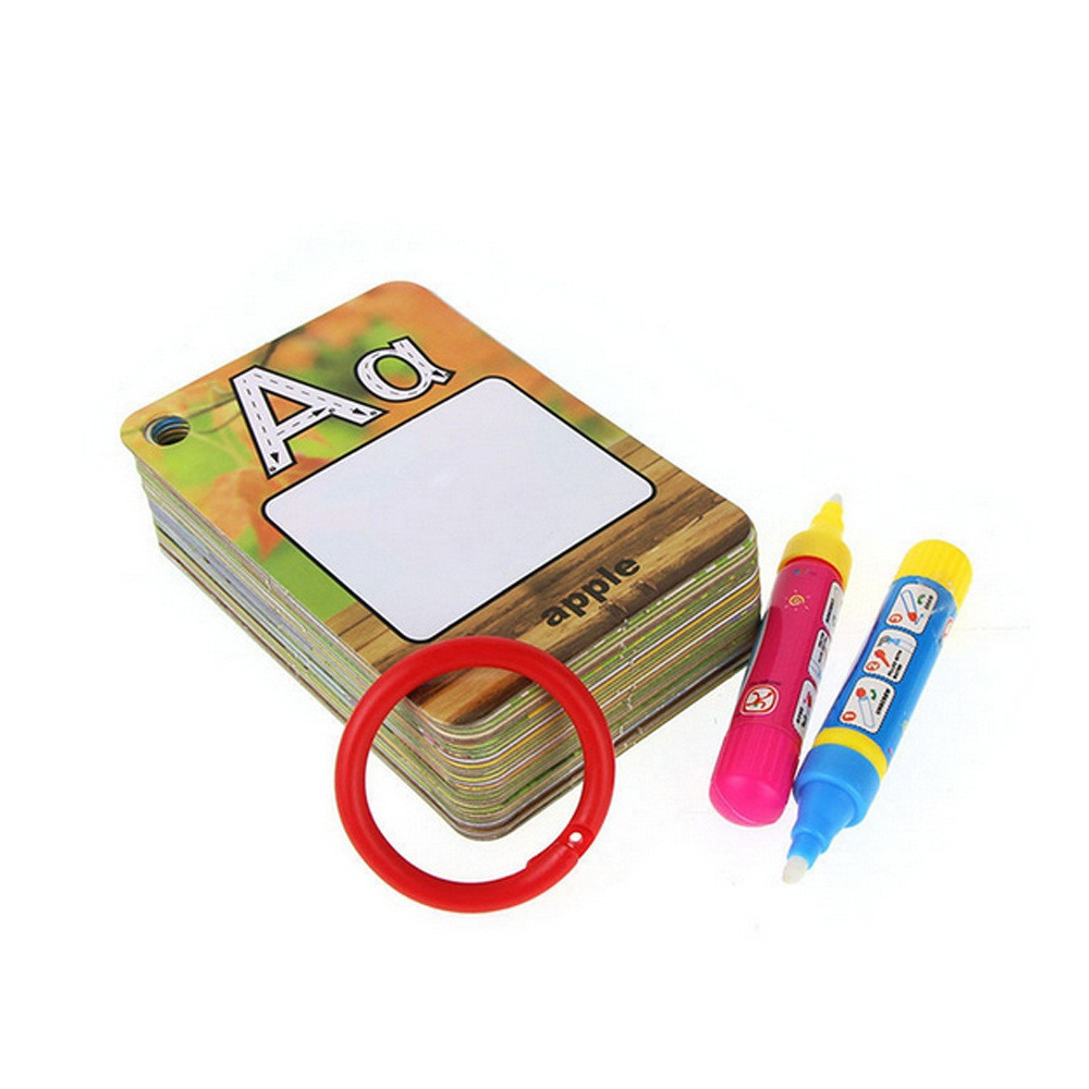 Hot Sale Stencils For Painting 26 Letters Children Water Painting Board Painted The Coloured Drawing Pattern Board Aqua Doodle