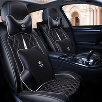 OUMANU Car seat cover polyester&leather car styling seat cover for citroen c5 c4 xsara picasso berlingo c elysee car accessorie