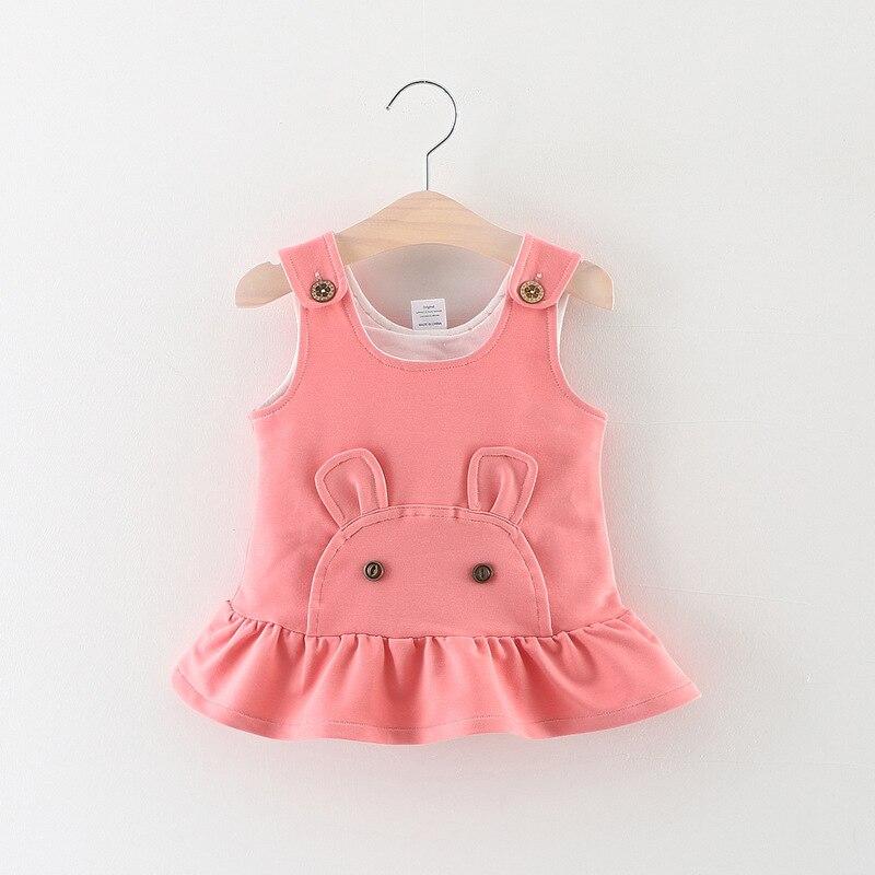 2018 летние От 0 до 3 лет для малышки популярный стиль милый плюшевый медведь чистый цвет подтяжки Прямая продажа с фабрики