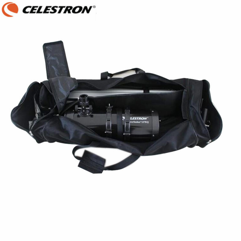 CELESTRON New Telescope Carrying Protector Soft Tripod Shoulder Bag Backpack for Celestron AstroMaster 127EQ / 130EQ / 150EQ телескоп celestron astromaster lt 60 az