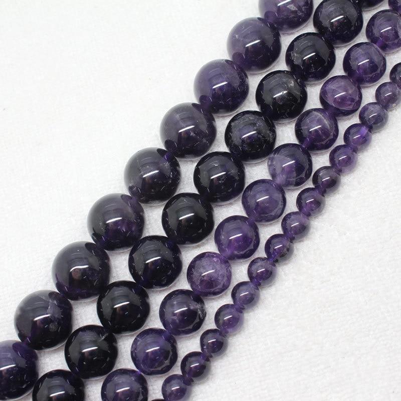 Mini.order- ը $ 7 է: 6-16 մմ բնական ամետիստների - Նորաձև զարդեր - Լուսանկար 1