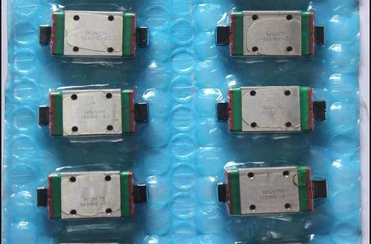2 pièces EGH15SA et EGR15-680MM et MGW12C Linéaire guide ensemble pour CNC