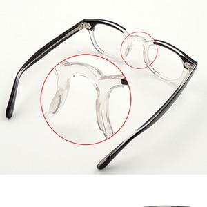 Image 4 - جوني ديب نظارات إطار النظارات البصرية الرجال النساء الكمبيوتر شفافة تصميم العلامة التجارية النظارات خلات خمر Q313 2 الموضة