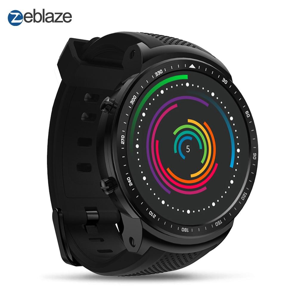 Zeblaze THOR Pro 3G GPS WIFI Smart Sports Smartwatch Android 5.1 MTK6580 Quad Core 1GB 16GB Camera Sport Smart Watches