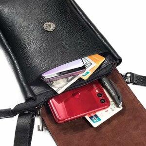 Image 2 - Nuovo Universale Del Telefono Mobile Del Sacchetto per Samsung iPhone Xiaomi Huawei Smartphone Donne Degli Uomini di Borsa A Tracolla Piccola Sacchetto di Corsa