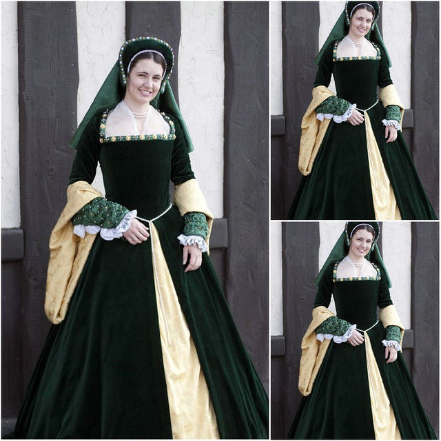 Renaissance Gown Costume & Image Is Loading Medieval