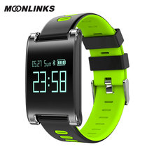 Moonlinks DM68-Double color waterproof smart watch blood pressure ladies watches 2017 sports smartwatch for men reloj android