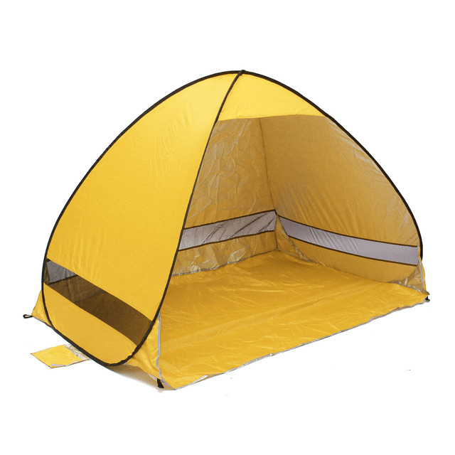 Quick Automatic Opening beach tent sun shelter UV-protective tent shade lightwight pop up open  sc 1 st  AliExpress.com & Quick Automatic Opening beach tent sun shelter UV protective tent ...