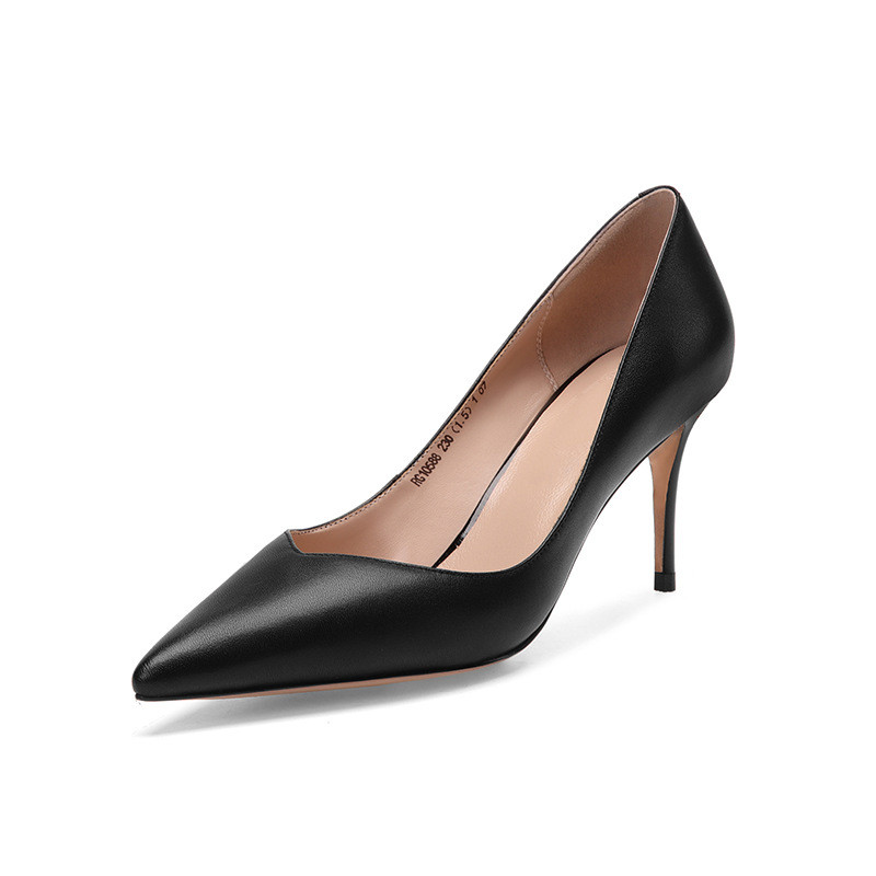 2019 spring and autumn stiletto heels shallow mouth single shoes pointed stiletto womens shoes black ljj 03242019 spring and autumn stiletto heels shallow mouth single shoes pointed stiletto womens shoes black ljj 0324