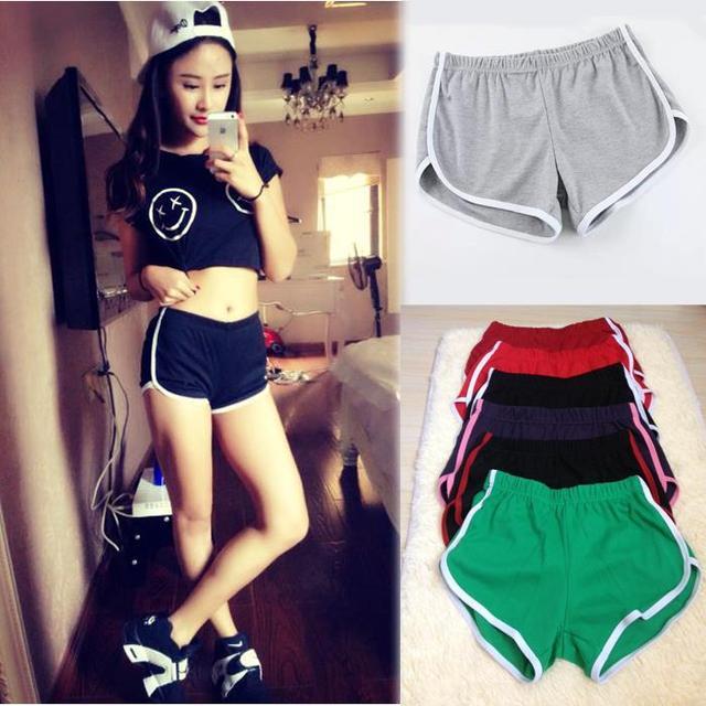 Fashion Sexy running shorts women jogging sport shorts for women hotpant  short femme 10 color 44544b66946