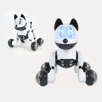 Dog Robot Music Electronic Pet Dance Intelligent Robot Dog Electronic Toys 2.4G Wireless Remote Control Talking Toys Kids Gifts