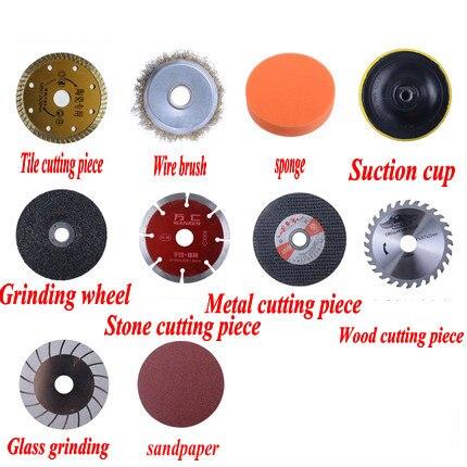 Angle Grinder Cutting Piece Saw Blade Grinding Wheel Woodworking Saw Blade Polishing Piece Grinding Piece Sand Wheel Piece