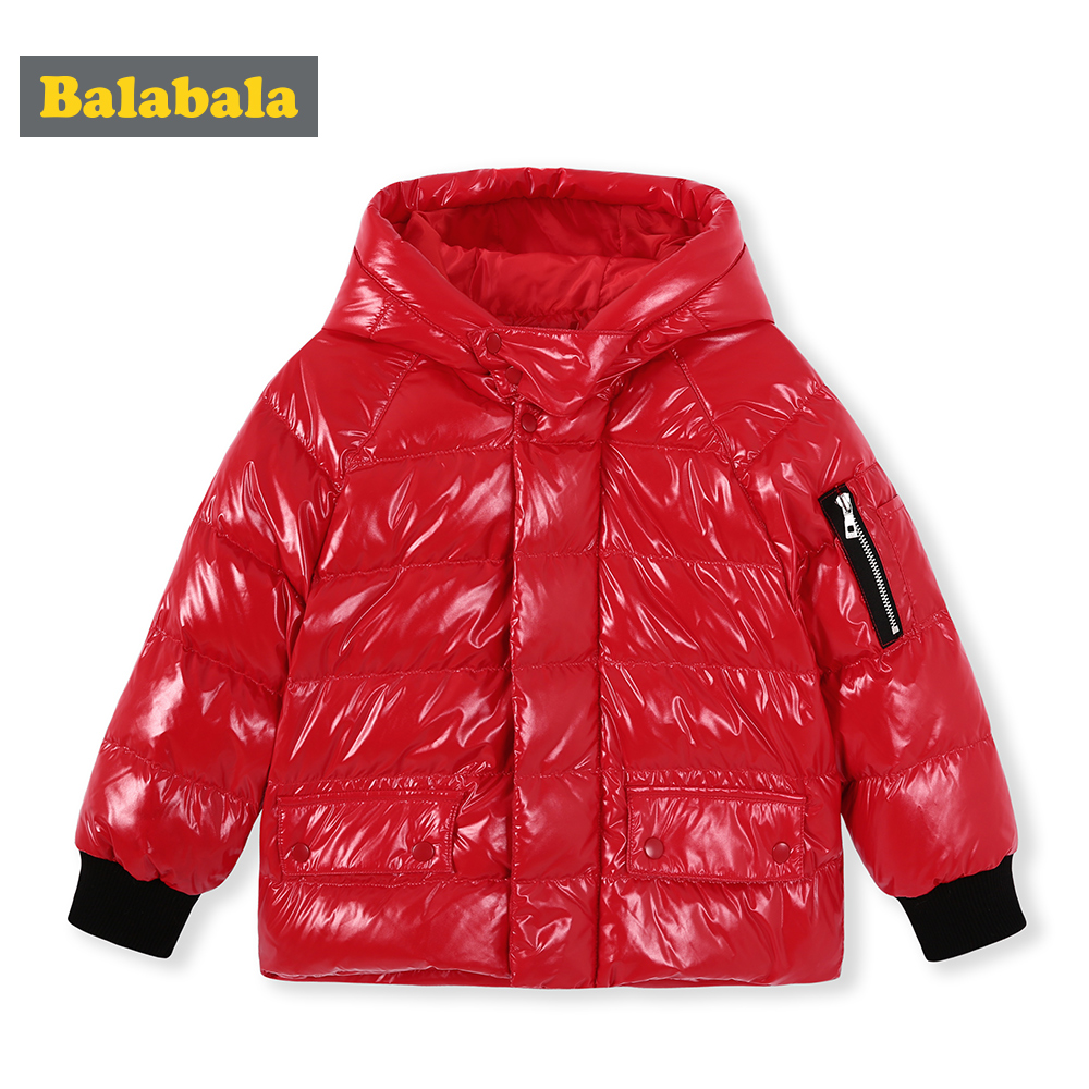 Balabala Winter down Jacket For Boy Hooded Thicken Long Sleeve Jackets Outerwear Coats Children Down Parkas spring ClothingBalabala Winter down Jacket For Boy Hooded Thicken Long Sleeve Jackets Outerwear Coats Children Down Parkas spring Clothing