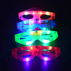 a6abd2bbca Kids Adults LED Eye Glasses Party Cosplay Props Halloween