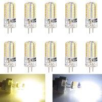 10 шт. G4 5 Вт светодио дный свет лампы кукурузы DC12V энергосберегающие лампы украшения дома JDH99