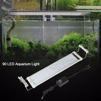 18W 90LED Aquarium Light Colorful Full Spectrum Aquarium Plant Grow Light Fish Tank Water Plant Growth