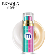 Bioaqua марка bb крем жидкая основа для макияжа грунтовка 2 в 1 base maquiagem nude naked макияж безупречный корректор косметика