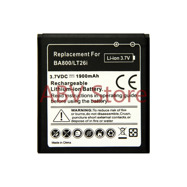 High Quality Replacement Battery Ba800 Battery For Sony Ericsson