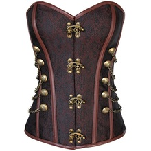 Gothic Steampunk corset bustier corsets clothing waist slimming body shapers women trainer tummy shaper belt