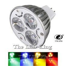 Высокомощный Светодиодный точечный светильник, светильник MR16, 12 В, 9 Вт, 12 Вт, 15 Вт, Светодиодный точечный светильник, лампа, теплый белый, красный, синий, зеленый, GU10, Светодиодный точечный светильник ing