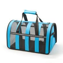 Cestovná taška pre psov a mačky 5farieb 3veľkosti Foldable Portable Pet Carrier