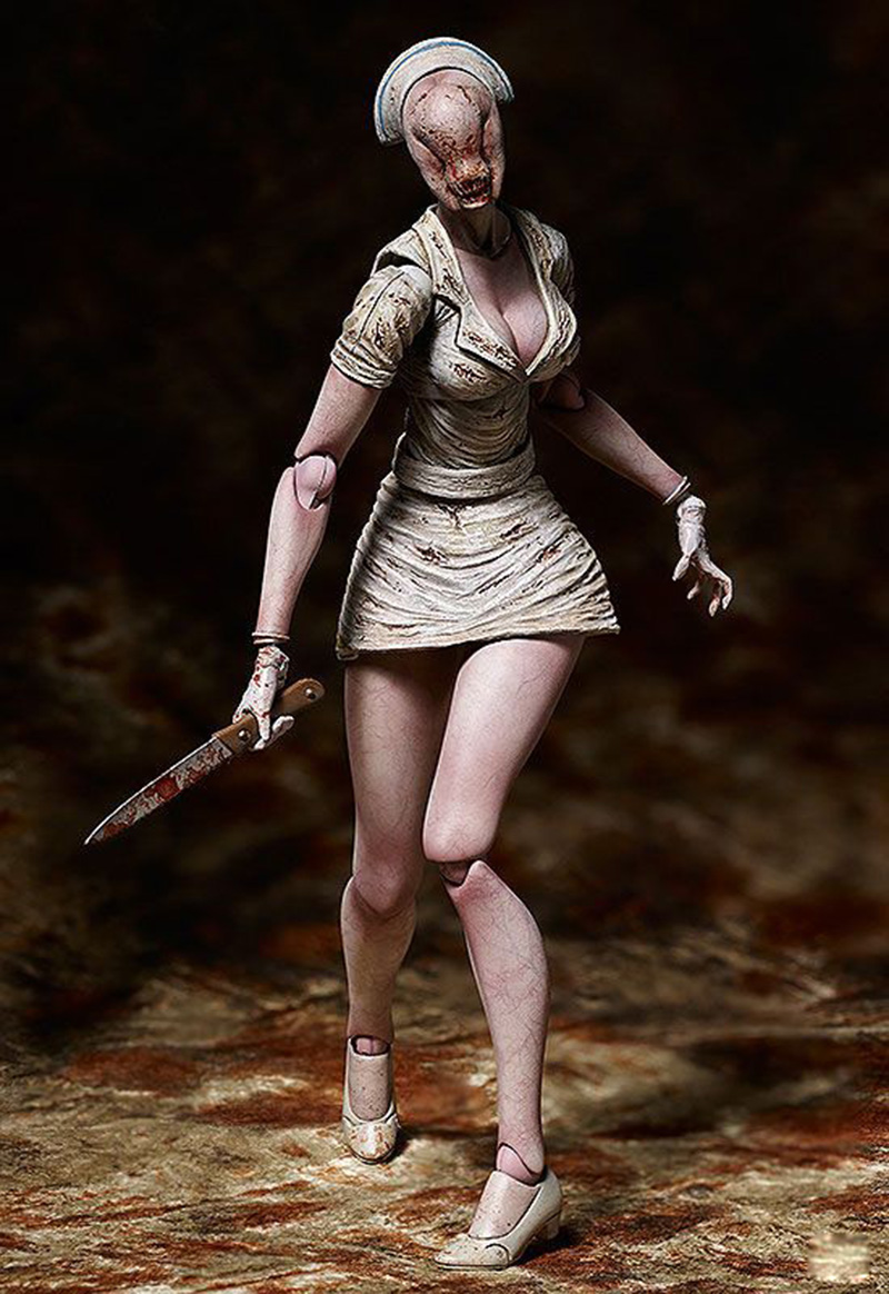 Movie Silent Hill II Variant Action Figure Bubble Head Nurse Figma SP-061 Toy Without Retail Box (Chinese Version) 2