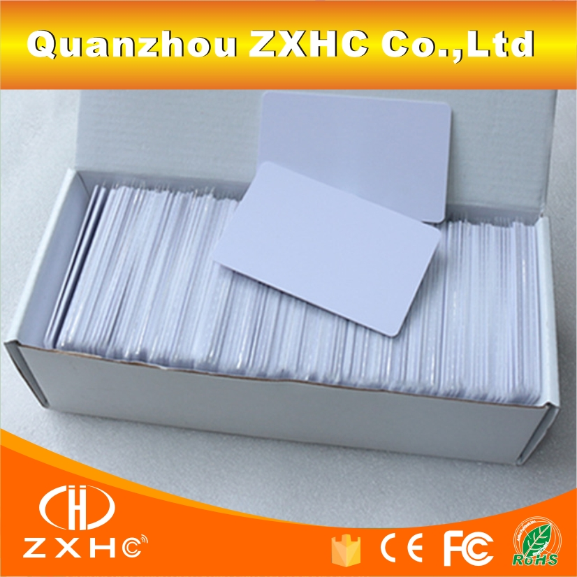 (100PCS/LOT) T5577 Card Programmable RFID 125khz Rewritable Smart Tags In Access Control
