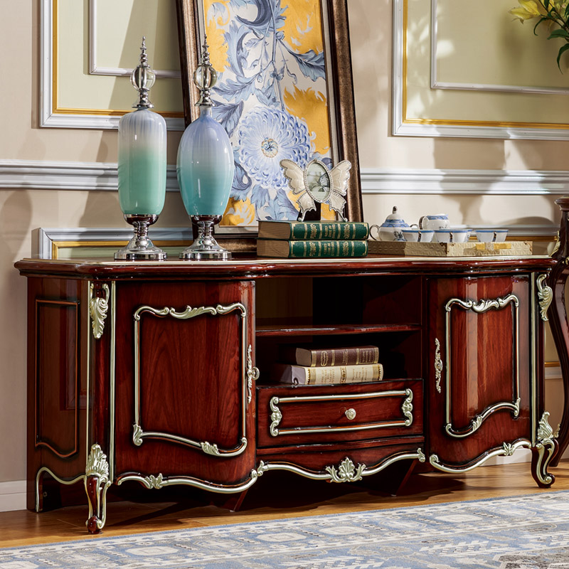 European Style Tv Cabinet ,TV Stand For Living Room From Foshan Furniture