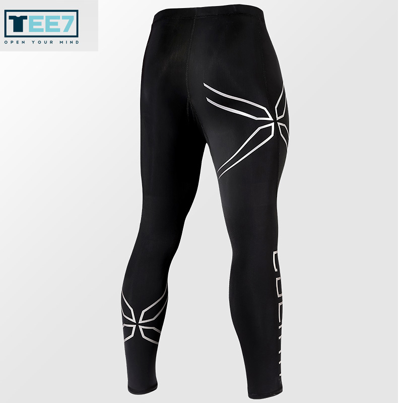 TEE7 Men Compression Pants Male Game LOL Tights Male Fashion Bodybuilding Men Underwear Trousers Male Fashion Skinny Leggings