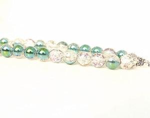Image 3 - New 10mm Glass Bead 33 Prayer Beads Islamic Muslim Tasbih Allah Mohammed Rosary for women men