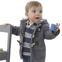 New Winter Newborn Baby Cotton Girls Coats Jackets Casual Baby Warm Hooded Kids Boy Jackets Outerwear