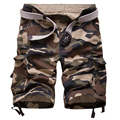2017 New High Quality Mens Cargo Shorts Casual Cotton Military Camouflage Short Camo Bermuda homme Summer Big Size 29-42